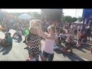 Ростов, исполнение песни иностранными болельщиками, июль ЧМ-2018