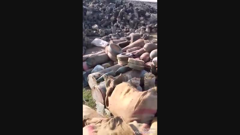 Саперы САА очищают район Тулул Аль- Сафа