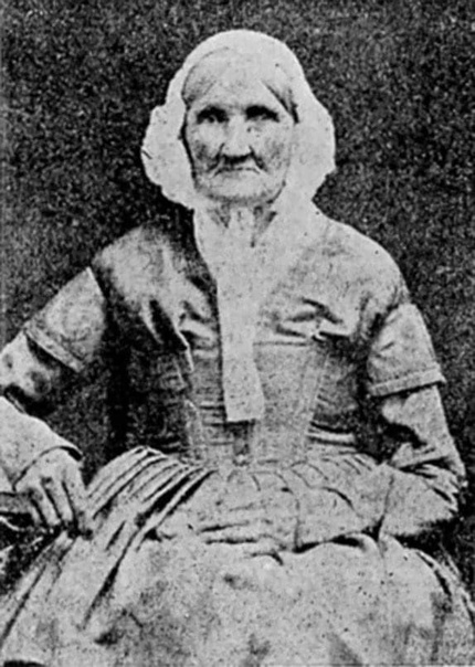 Ханна Стилли родилась в 1746 году, а эта ее фотография сделана в 1840-м. Вполне вероятно, что она является самым раннерождённым человеком, запечатлённым фотографическим способом.
