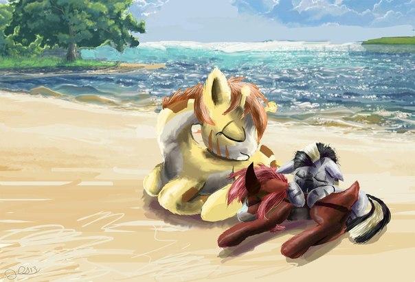Литл Пони зимой и лошади обои, +игра одень девочку в рождество!