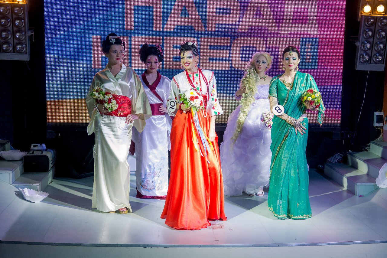 """Конкурс стилистов """"ПАРАД НЕВЕСТ 2014 г.Николаева"""""""