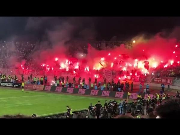 В Белграде прошло горячее сербское дерби Партизан - Црвена звезда