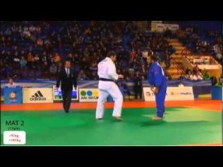 European Judo Open Men & Women Minsk 2013 Semifinal o100kg VAKHAVIAK (BLR) - METREVELI Nodar (GEO)