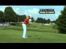 A slow motion look at Rory McIlroy's driver swing in 2012