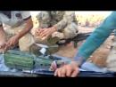 Бой при Заляф (Риф Сувейда аль-шамали). ССА прожаривает бронетехнику КСИР и шабихи ПТУРом Конкурс (архив 2017)