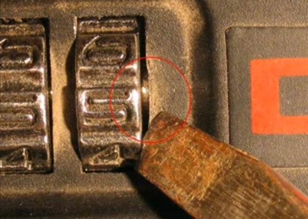 Как взломать код на чемодан Как взломать защитный код на Nokia X2-00.