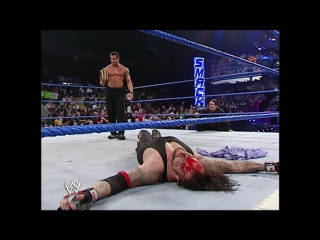 Randy Orton destroyed Undertaker SmackDown 16.12. 2005