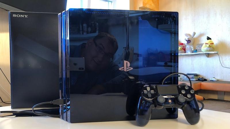 Самая космическая PS4 PRO. Просто СЕКС. PlayStation 4 Pro 500 Million Limited Edition
