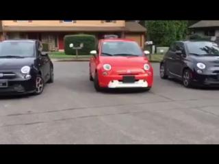 Fiat 500e - полностью электрический автомобиль!