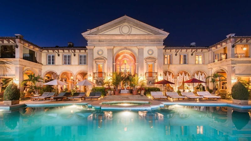$47,000,000 Outstanding World Class European Inspired Mansion in Beverly Hills
