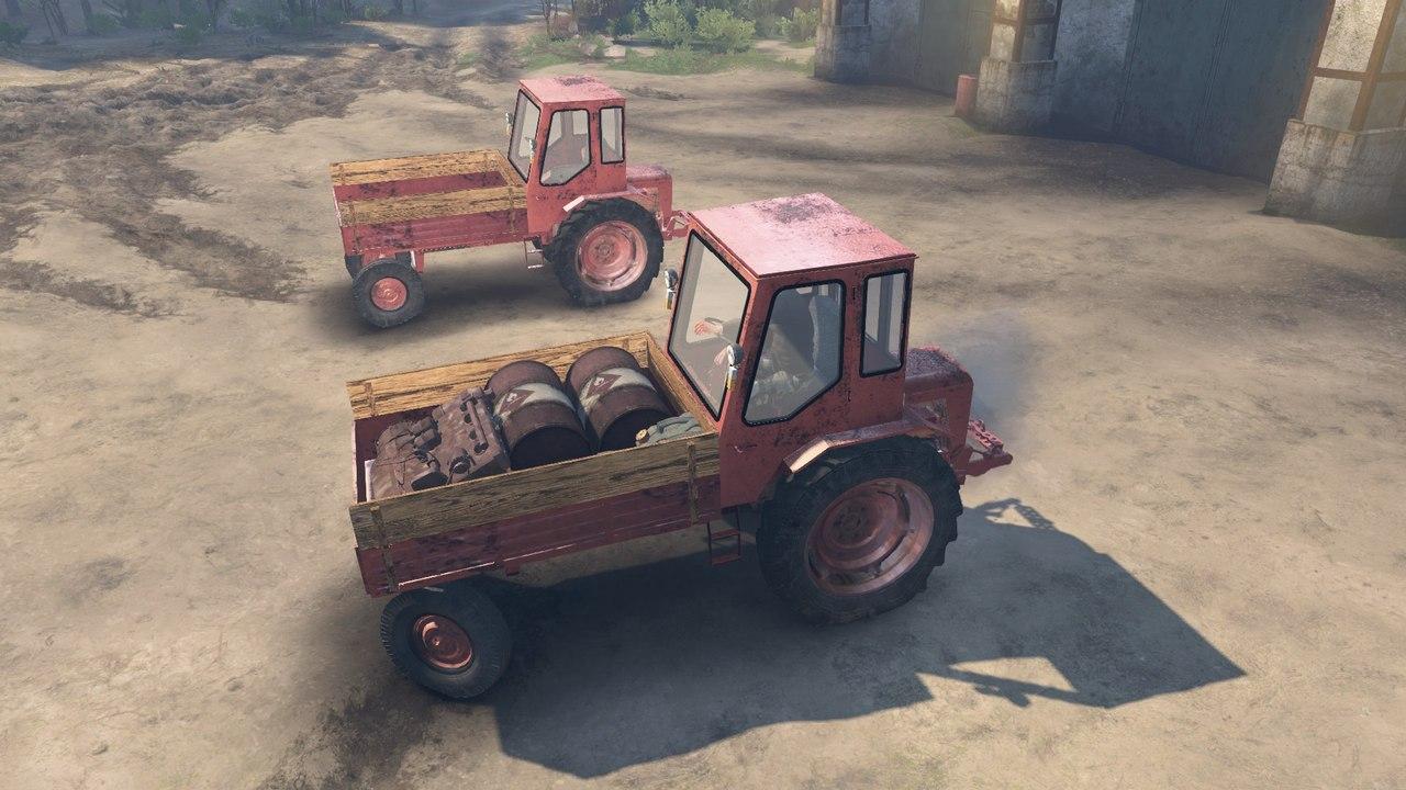 Трактор T16 для 03.03.16 для Spintires - Скриншот 3