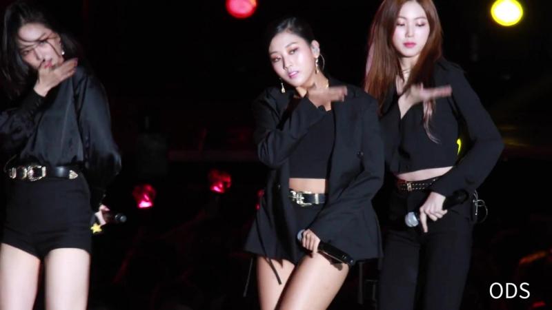 180901 CLC(씨엘씨) 장승연 블랙드레스(BlackDress) - INK 2018(인천 K-POP 콘서트)