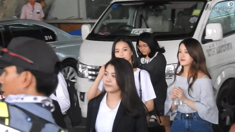 CLC in Bangkok - 160561 At Suvarnabhumi Airport