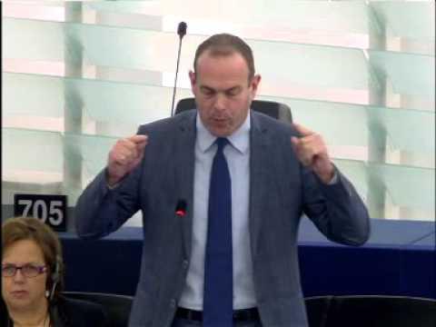 Steeve Briois intervient au Parlement européen sur lanarchie migratoire