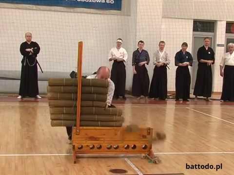Dotan giri tameshigiri Porando Battodo Tai Kai 2009   Samurai Juku