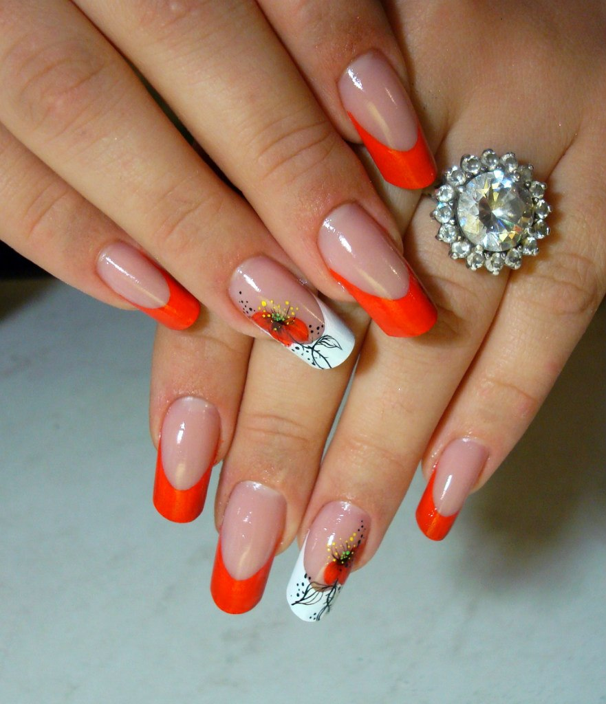 Свадебней дизайн ногтей видео