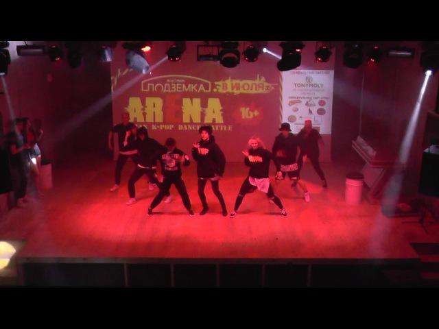 Gentelman's - ARENA Siberian k-pop dance battle 08.07.17 » Freewka.com - Смотреть онлайн в хорощем качестве