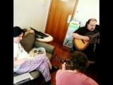 Marillion rehearsing for radio
