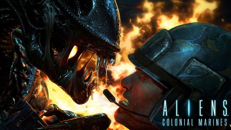 Aliens colonial marines - 2 Press F
