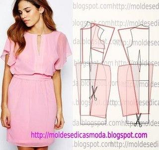 Платья образцы для шитья