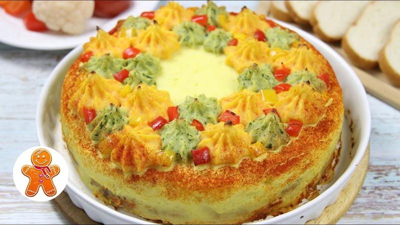 Шикарное Горячее Блюдо на Праздничный Стол ✧ Мясной Торт