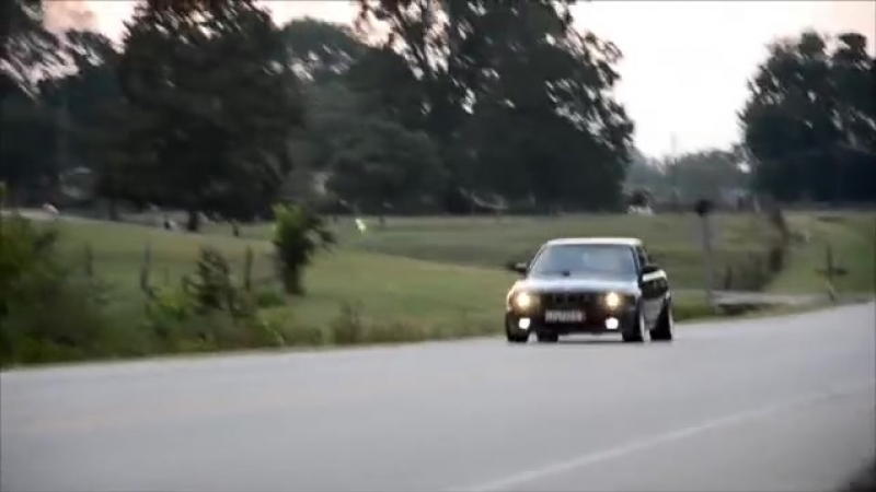 BMW E34 M5 exhaust and acceleration video