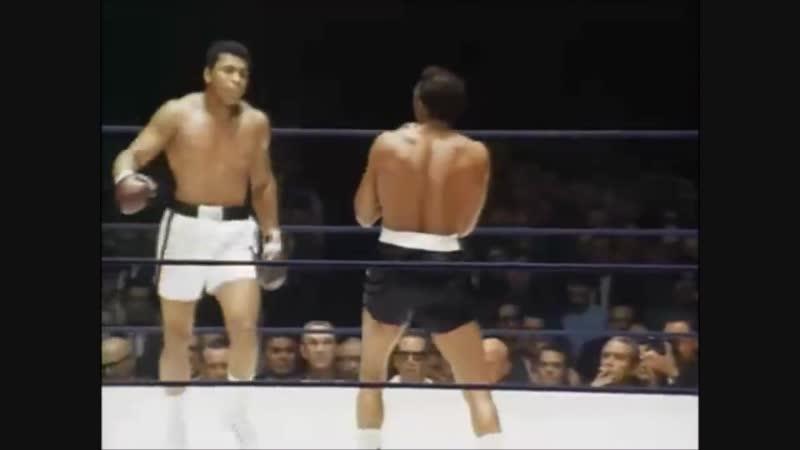 Muhammad Ali невероятная скорость