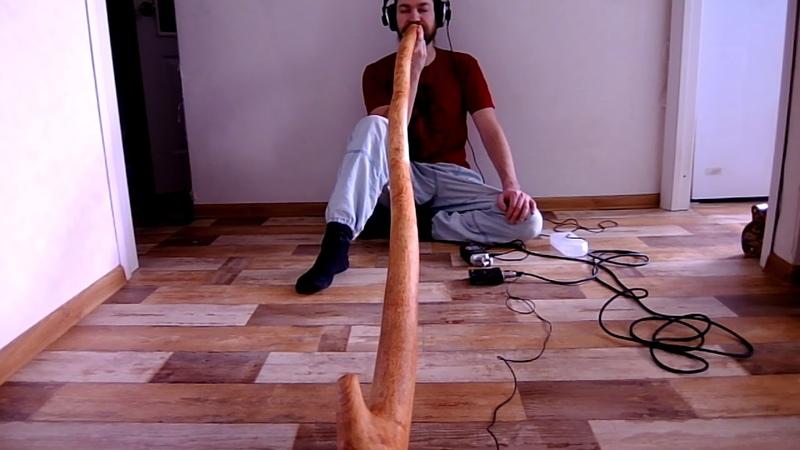 Didgeridoo Yurlungur key оf B 432Hz (Toned Maple tree) by Karagachwood