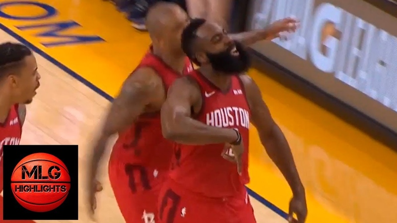 James Harden activates his grill mode hits game winner against the Warriors