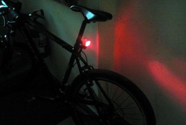 Как сделать фонарик на велосипед