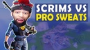 SCRIMS VS THE PRO SWEATS HELP ME I NEED MATS HIGH KILL FUNNY GAME Fortnite Battle Royale