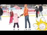 Детский каток с чемпионами в фигурном катании