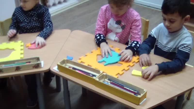 пазлы четырехлетки