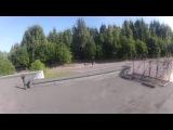 Видео выборгского паркурщика