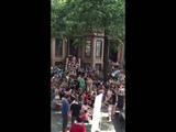Hamilton sing along block party