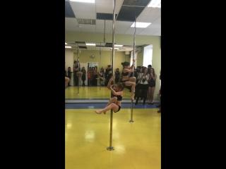 Pole Dance ( шестовая акробатика) детская группа