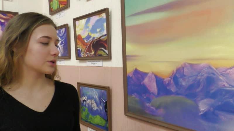 Выставка Краски ИНДИИ, творчество Святослава Рериха (2019)
