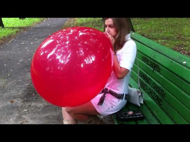 Фетиш надувные шарики