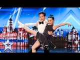 Meet dazzling dancing duo Lexie and Christopher Auditions BGT 2018
