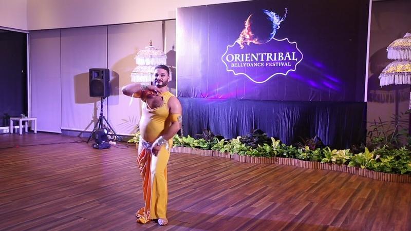 Azad Kaan at OrienTribal 2017 in Bali Indonesia