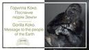 Горилла Коко. Послание людям Земли // Gorilla Koko. Message to the people of the Earth