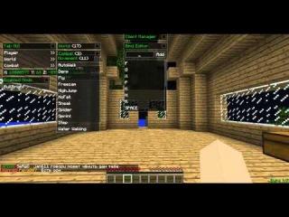 [Minecraft] Как устанавливать бинды на кнопки в чит клиенте Nodus.