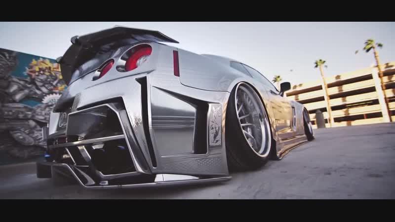 Kuhl Racing Nissan GT-R _ Black di Forza BM9-L _ Savini Wheels