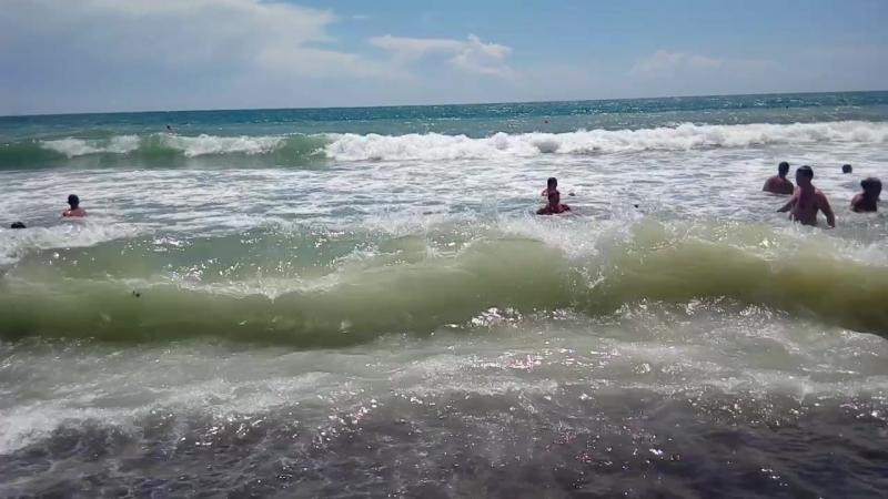 волны в Судаке-2