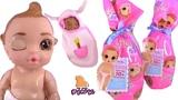 ПУПСИКИ С СЮРПРИЗАМИ! BABY BORN DOLLS ПАМПЕРСЫ МЕНЯЮТ ЦВЕТ! Видео для Детей Май Той Пинк
