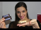 Snickers selber machen - Rezept Snickers Bars Marshmallow Fluff nachgemacht