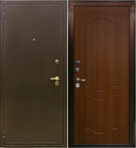изготовление двери входной с дермантином цены