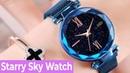 Starry Sky Watch! Стильные Женские часы в наборе с браслетом