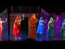 7 Восточный танец Балет Троя Дочь Изабелла Спехова в жёлтом