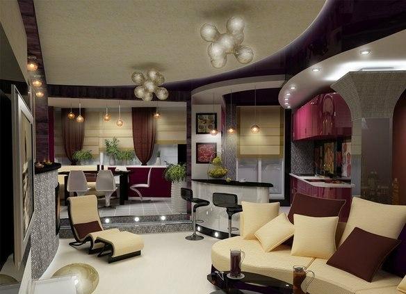 Дизайн оформление однокомнатной квартиры